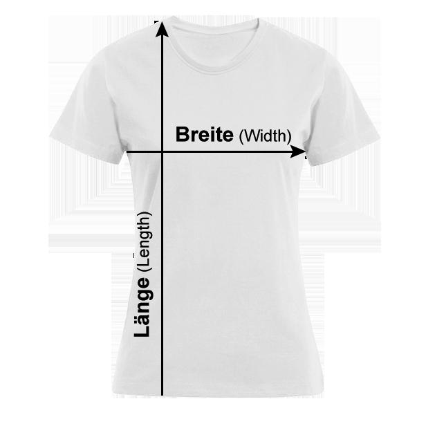 Damen T-Shirt mit Aufdruck