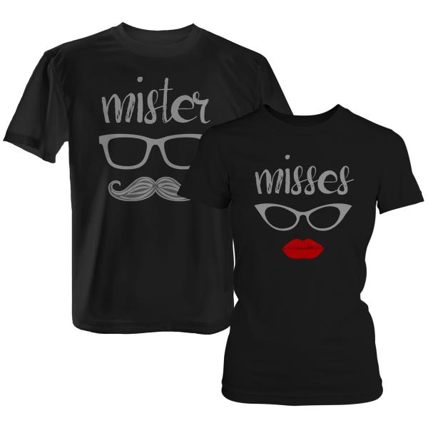 Mister & Misses / Mr. & Mrs. - Partner T-Shirt