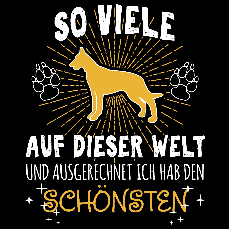 Mein Frauchen Boxer Damen T-Shirt Spruch Geschenk Idee Hunde Besitzer Deutscher