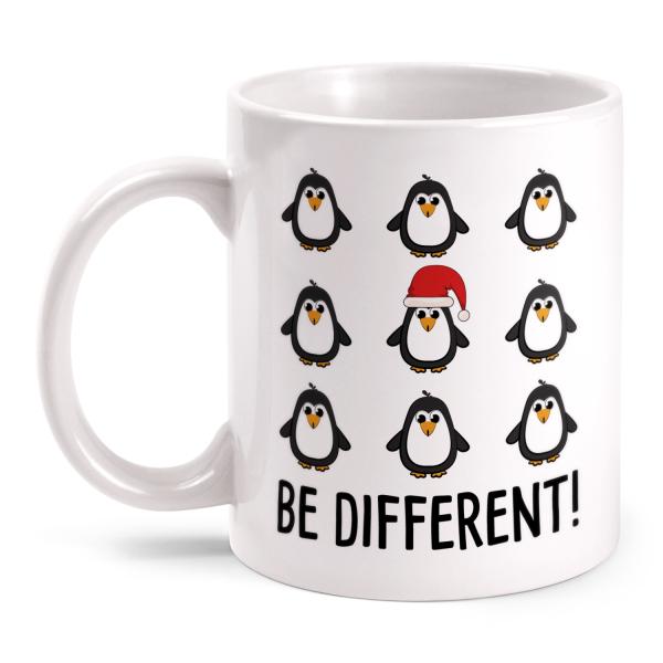 Be different! Pinguine - Tasse
