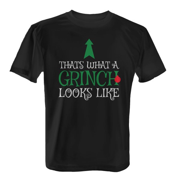 Thats What A Grinch Looks Like - Herren T-Shirt