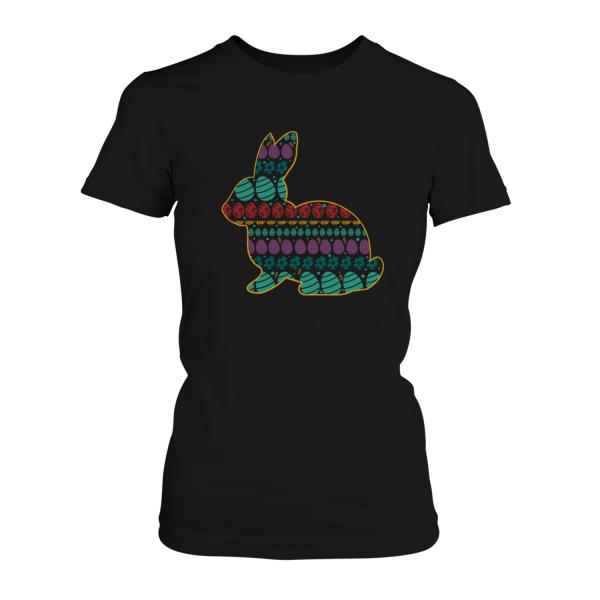 Muster Oster Hase - Damen T-Shirt