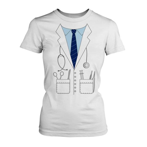 Arzt Kostüm - Damen T-Shirt