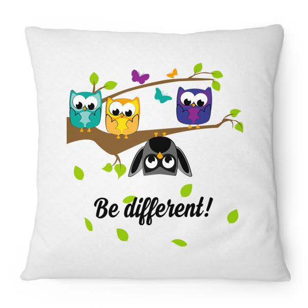 Be different! - Kissen