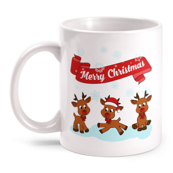 Merry Christmas Rentiere - Tasse