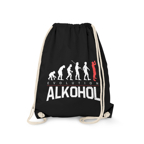 Evolution Alkohol - Turnbeutel