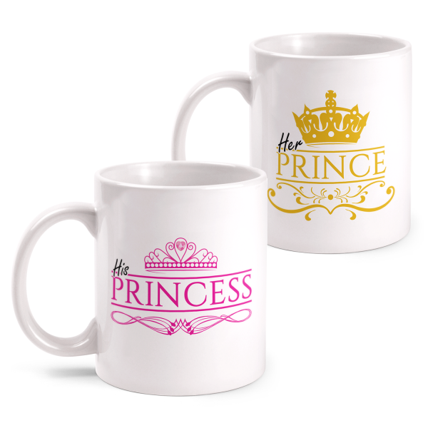 His Princess & Her Prince - Partner Tasse