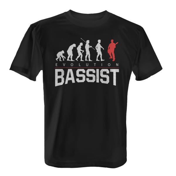 Evolution Bassist - Herren T-Shirt