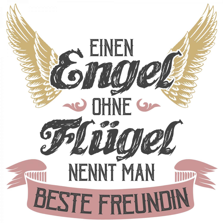 Angel WITHOUT WINGS Best GIRLFRIEND PILLOW 40x40 CM BIRTHDAY GIFT IDEA SLOGAN