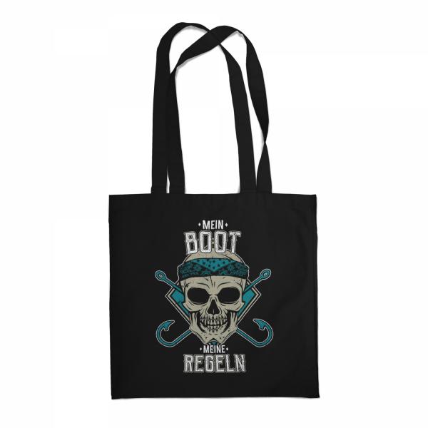 Mein Boot - Meine Regeln - Stoffbeutel