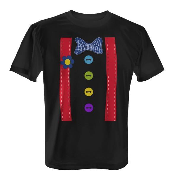 Clown Kostüm - Herren T-Shirt