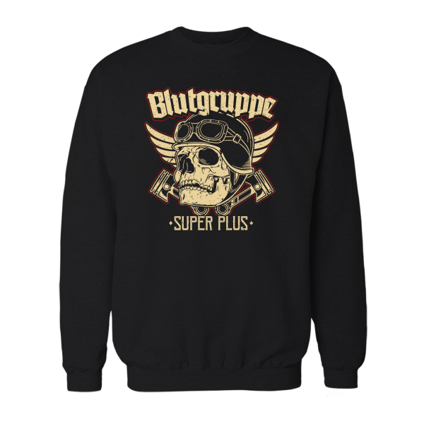 Blutgruppe Super Plus - Herren Sweatshirt