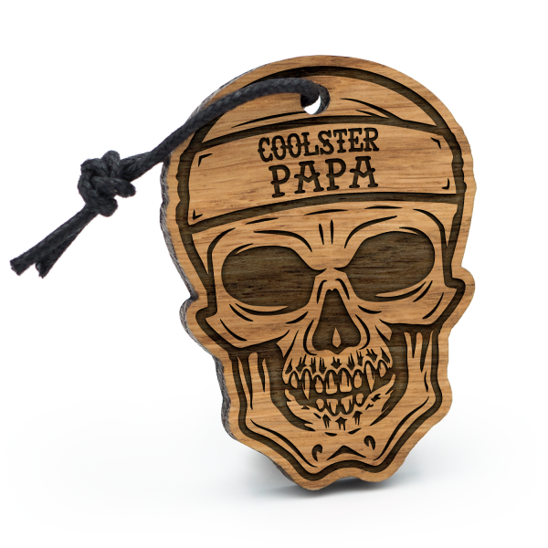 Coolster Papa - Schlüsselanhänger Totenkopf