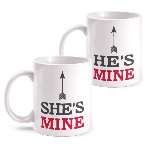 She's mine & He's mine - Partner Tasse