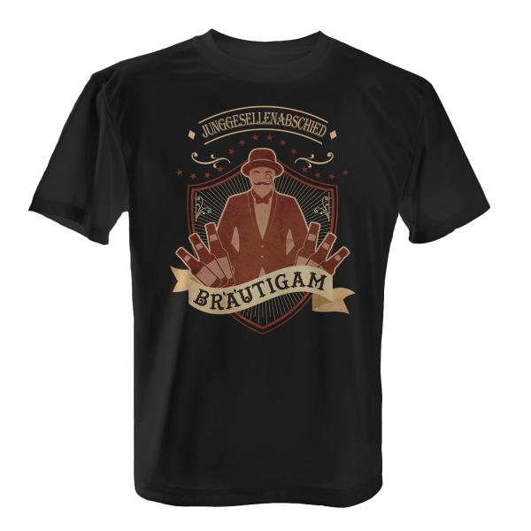 Junggesellenabschied Bräutigam - Herren T-Shirt