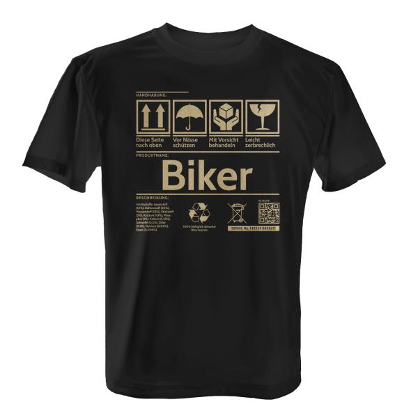 Etikett - Biker - Herren T-Shirt