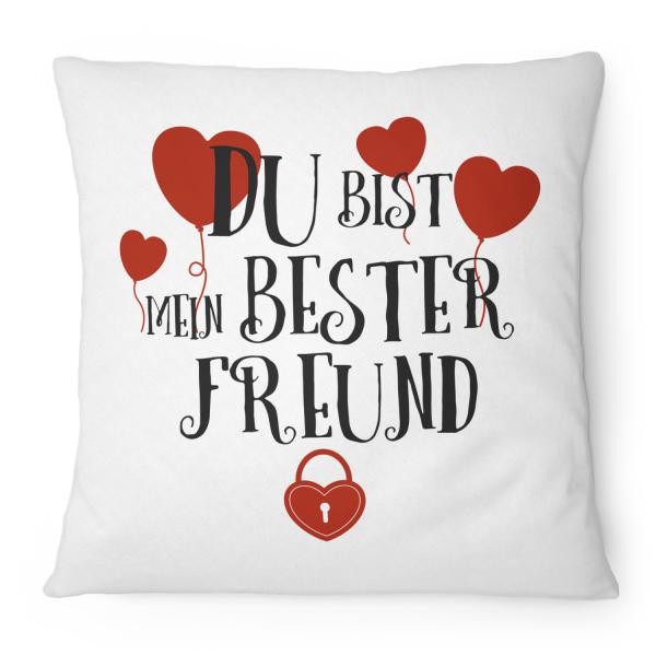 Du bist mein bester Freund - Kissen