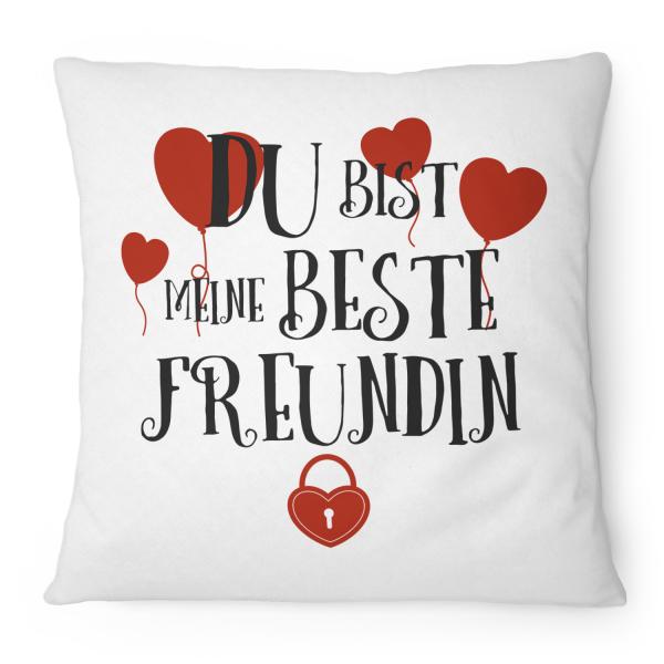 Du bist meine beste Freundin - Kissen