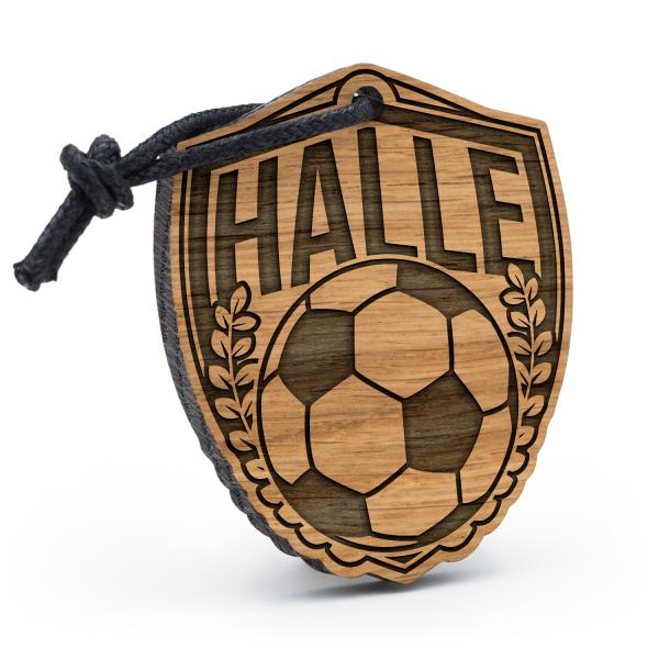 Halle - Schlüsselanhänger Fußball