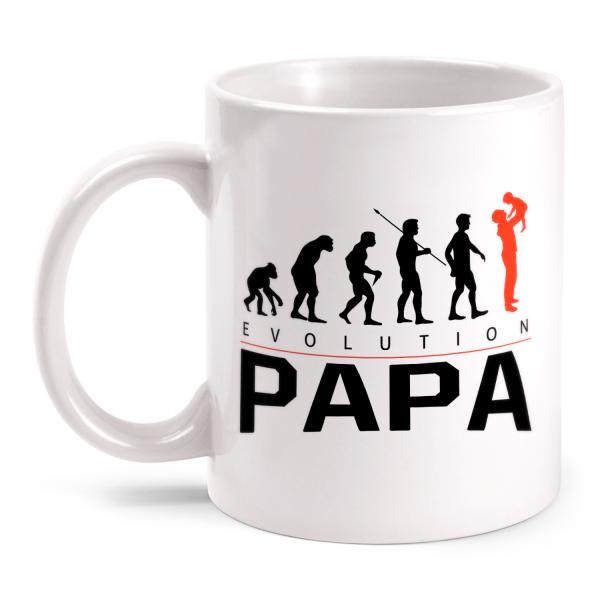 Evolution Papa - Tasse