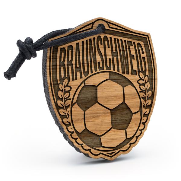 Braunschweig - Schlüsselanhänger Fußball