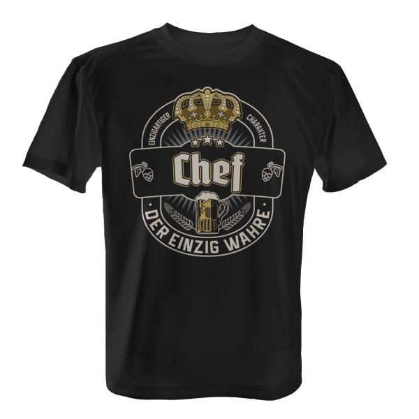 Der einzig wahre Chef - Herren T-Shirt