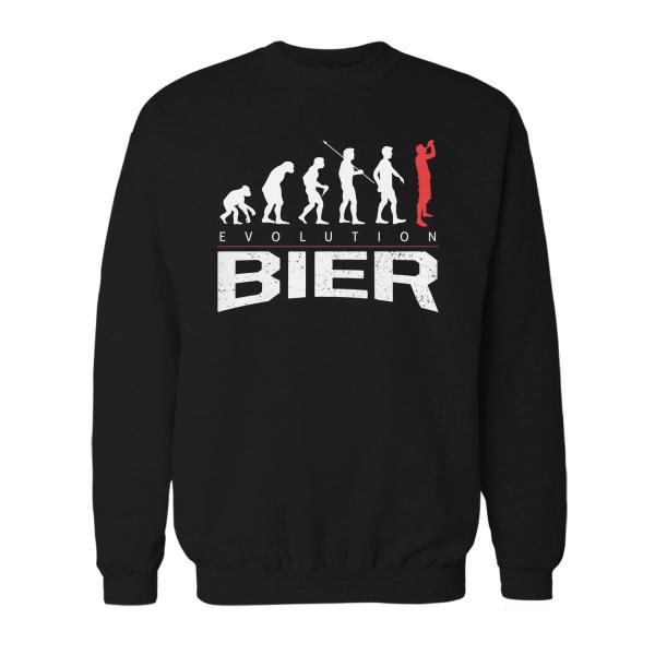 Evolution Bier - Herren Sweatshirt