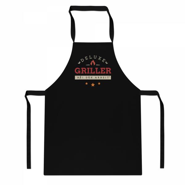 Deluxe Griller bei der Arbeit - Schürze