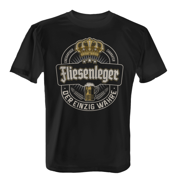 Der einzig wahre Fliesenleger - Herren T-Shirt