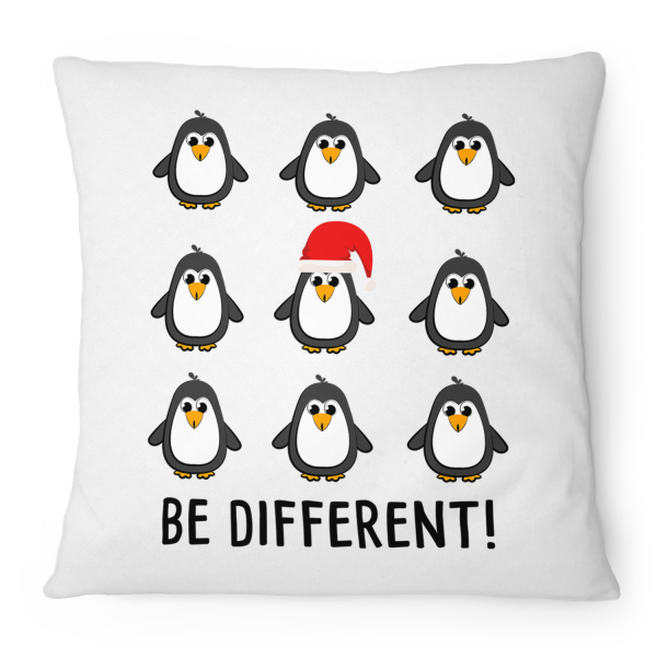 Be different! Pinguine - Kissen