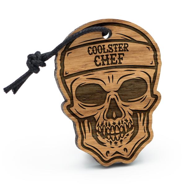 Coolster Chef - Schlüsselanhänger Totenkopf
