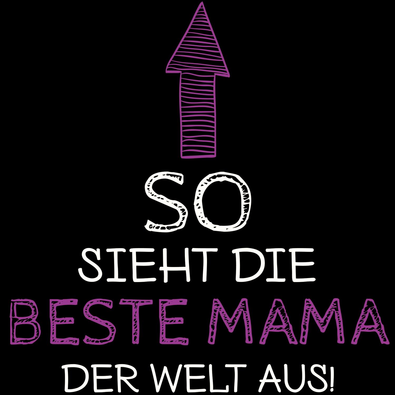 So Sieht Die Beste Mama Der Welt Aus Turnbeutel Turnbeutel
