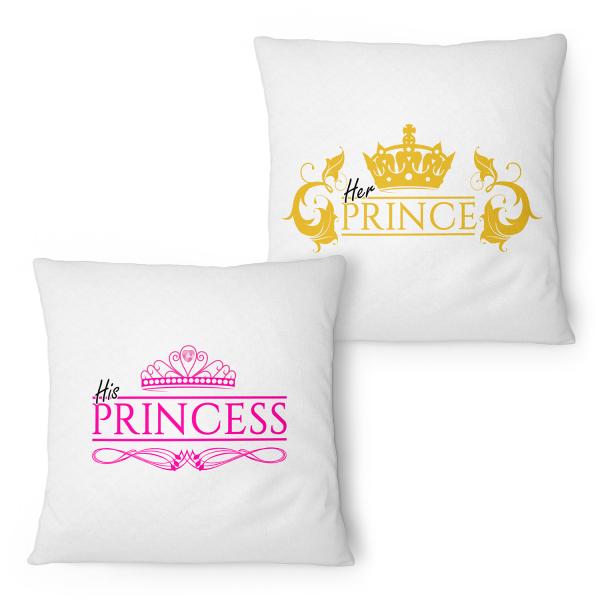 Princess & Prince - Partner Kissen