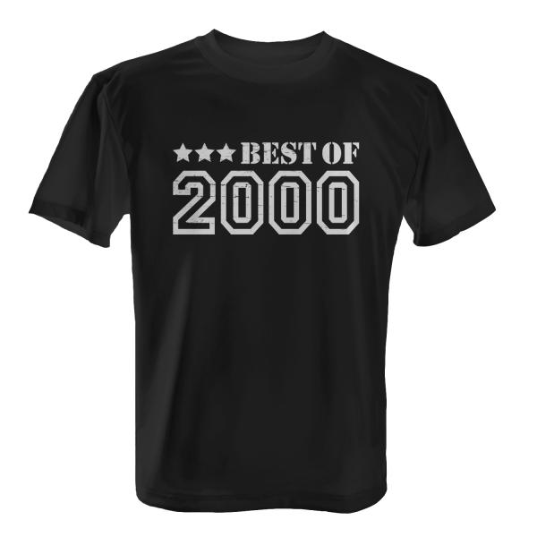 Best Of 2000 - Herren T-Shirt