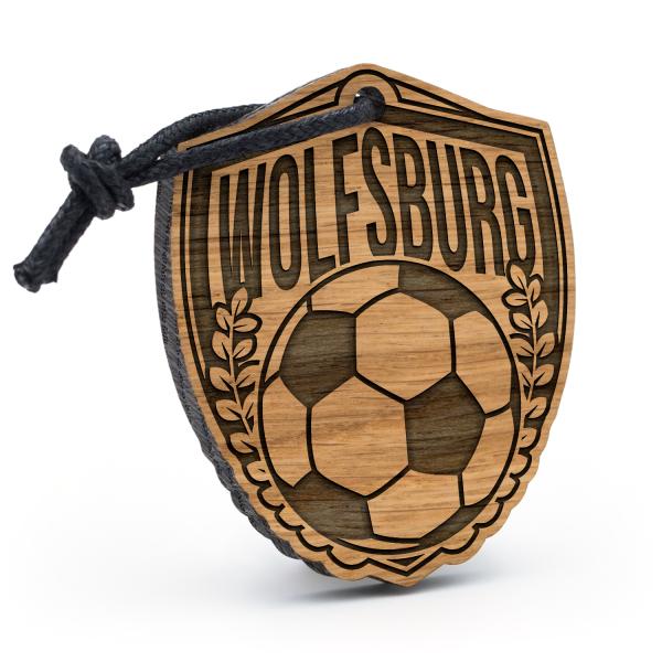 Wolfsburg - Schlüsselanhänger Fußball