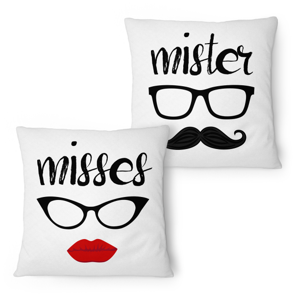 Misses & Mister - Partner Kissen